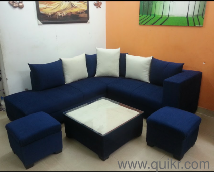 Call/Whats App  9718080807) Sofa Set 6 Seater 2 Ottoman + Center Table New  Brand On Lowest Price ... SK F DECOR   Brand Home   Office Furniture    Ghaziabad ...