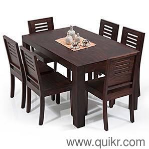 PREMIUM 6 4 Seater Teakwood Dining Table