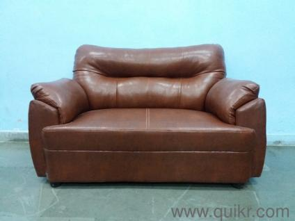 Leather Sofa | Used Home   Office Furniture In Faridabad | Home U0026 Lifestyle  Quikr Bazzar Faridabad
