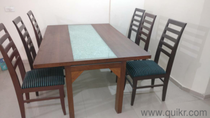 6 Seater Dining Table With Chair