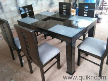 PREMIUM A Brand New 6 Chairs FENDY Dining Set Free Delivery All M Bangalore  9844501715