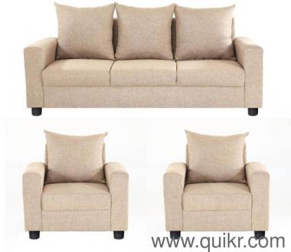 3 1 Fabric Sofa Set