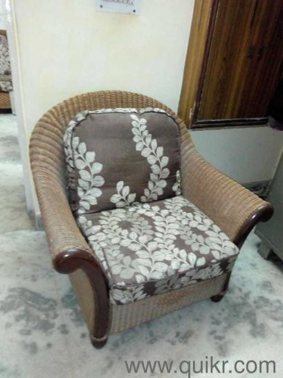 imported cane sofa set 3 1 1 seater with centre table with glass