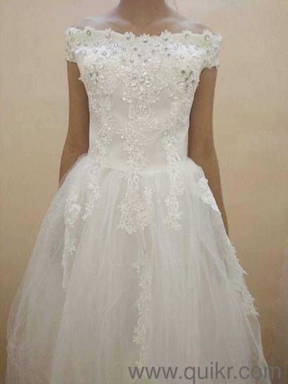 Brand new. Imported white wedding gown. Sequence dress. Material ...
