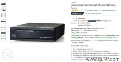 Linksys Small Business Rv042 Load Balancing Router Review
