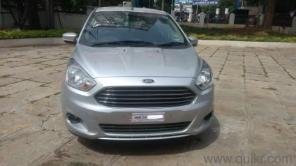 Silver  Ford Figo Aspire Titanium   Ti Vct At  Kms Driven In Victoria Layout In Victoria Layout Bangalore Used Cars On Bangalore Quikr