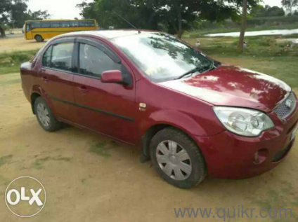 Red  Ford Fiesta Exi   Kms Driven In Electronic City Phase I In Electronic City Phase I Bangalore Cars On Bangalore Quikr Classifieds