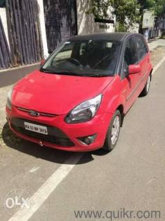 Red  Ford Figosel Exi  Kms Driven In Chikkalasandra In Chikkalasandra Bangalore Cars On Bangalore Quikr Classifieds