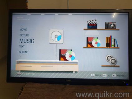 40 inch Haier LED TV LE40B50 best condition with 2HDMI USB VGAA connect