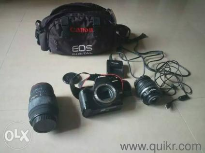 I want to sell my used Canon 1000D 10 Mpx DSLR Camera with 2 lenses