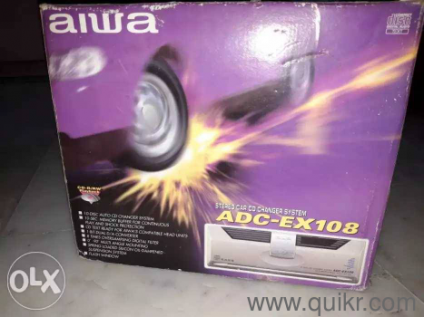 I Want to Sale My aiwa Car stereo Music System New Condition