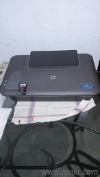 HP All-In-One Printer in very good condition  Print scan copy running  perfectly well  Only the black catridge carrier is not working