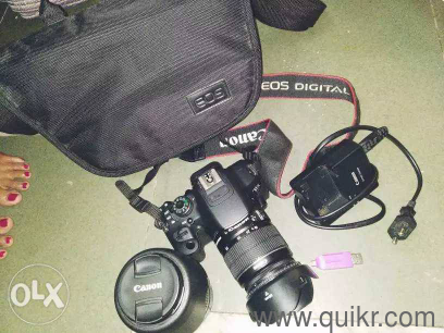 Canon 700d Urgently Selling because i need money if any one interested call  me 91_36_83_46_18