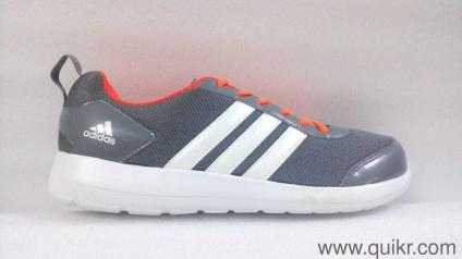 b259c91757ae97 Adidas Adidas Men s Altros 1.0 M Grey and Solar Red Running Shoes - 9 UK  India (43.3EU) Footwear