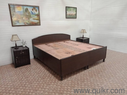 Double Bed With Box Used Home Office Furniture In Delhi Home