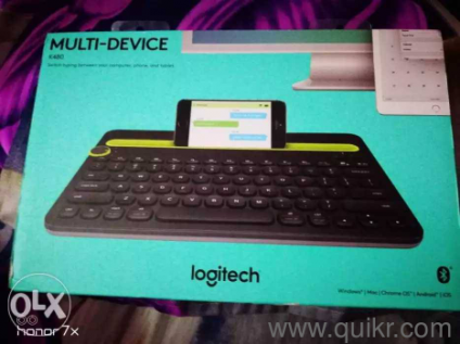 Logitech K480 Multi-Device Bluetooth Keyboard (Black )*can be connected  with mac/ipad too!*wireless keyboardmulti device can be connectedCOMPATIBLE