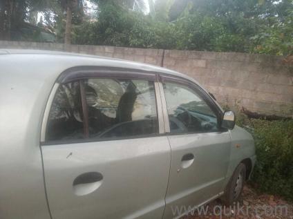 Silver 2002 Hyundai Santro Xing 1 50 000 Kms Driven In Nagarabhavi