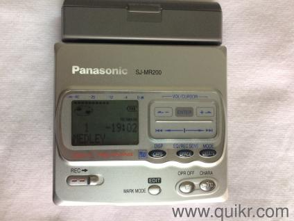 Panasonic mini disc recorder/player SJ-MR200 in New Condition For Rs 9000/-