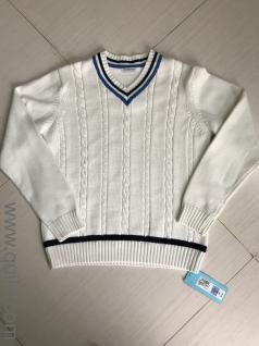 aa2d821ee Cricket sweater white with blue line from the M S UK for 13 to 14 year boy.  PREFERRED SELLER Brand New ...