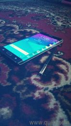 Samsung galaxy note edge 3gb ram 32gb inbuilt with fingerprint s pen in  very good condition back and recent buttons not working should be flashed  else