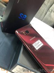 10%off samsung galaxy s8  / 4gb ram 64gb ROM indonesian made waterproof  fast charging support face lock fingerprint 12mp dual camera 3500 mah  battery