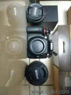Nikon D5300 DSLR Camera with 2 lense and all acc including bill box