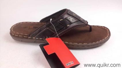 f290947e685650 Action Shoes Men s Coffee Leather Hawaii Thong Sandals - 9 UK India (43 EU