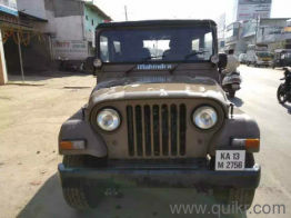 3 Used Mahindra Jeep Cars In Chikmagalur Second Hand Mahindra Jeep