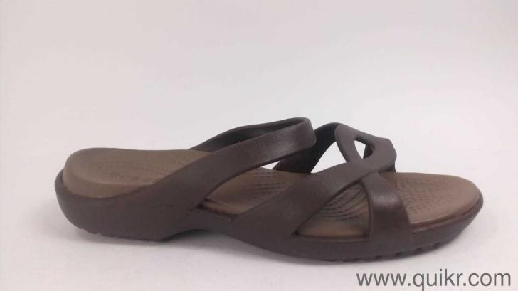 b9f789be8 Crocs Women s Meleen Twist W Espresso or Walnut Fashion Sandals-W8(202497)  with replacement guarantee. - Unboxed Footwear - Bangalore
