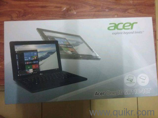Acer one 10 SW 110- 1ct with two case covers, one of 10 1 in and other  genuine acer cover of 11 inch and a 32 gb class 10 SanDisk micro sd card  for