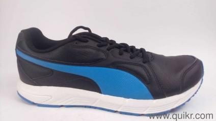 5b59547d5b59d Puma Men s Axis V4 Sl Idp Puma Black-French Blue Running Shoes - 10 UK