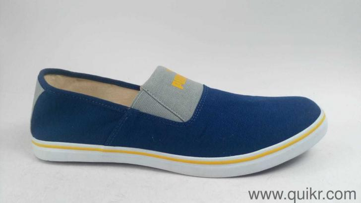 818e83f2855d4e Puma Men s Clara IDP Blue Depths-Spectra Yellow Loafers - 9 UK India ...