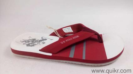 11bdd976f3d7 US Polo Association Men s Bavarian Maroon Flip Flops Thong Sandals-8 UK  India (
