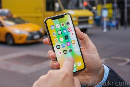 Apple iPhone X 256GB 9-five-6-O-five-29639 iOS v11  0 1, upgradable to  v11 2, Performance :-Hexa Core (2 39 GHz, Dual Core + 1 42 GHz, Quad core),