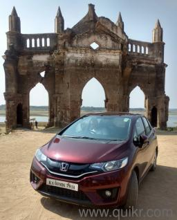 Red 2015 Honda Jazz Vx Mt 13 000 Kms Driven In Doddanekkundi In