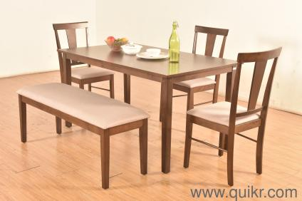 Fraser Solid 5 Seater Dining Table Set By Perfect Homes