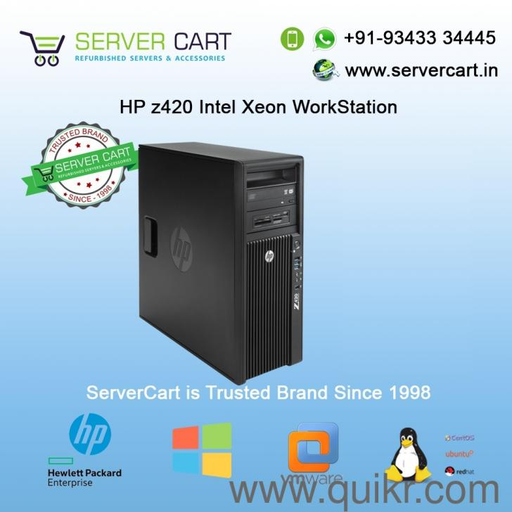 HP Z420 Xeon Graphical Video Rendering Gaming WorkStation Server
