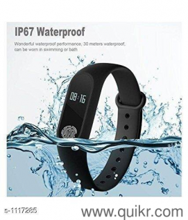 Stylish Trendy M2 Smart Fitness Bands Vol 5 Material : Plastic Display  Size: 0 96 inType: DigitalDescription : It Has 1 Piece Of M2 Smart Fitness