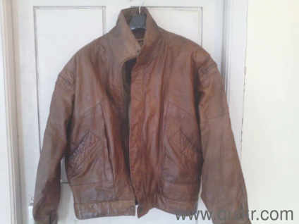 bd0fd6e79c14 imported leather jacket- quikr verified- good condition. Gently Used Home    Lifestyle
