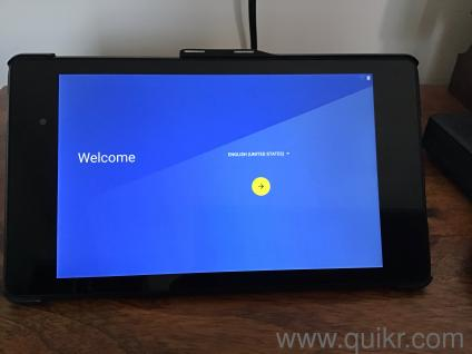 Google nexus 7 tablet great condition with flip cover