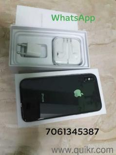 I phone x copy clone4gb ram 64 gb rom ios 11:11 camra 12+12 mp metel body  full display face id proper workin