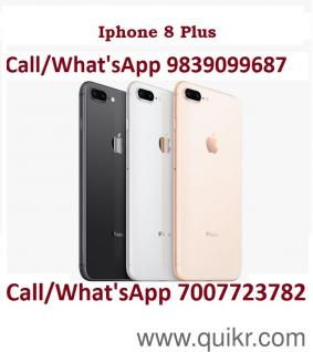 9839099687 Apple Iphone 8 Plus, Cod All India, Premium Dubai Copy , Water  Resistant, Quikr Warranty, Available At Attractive Price