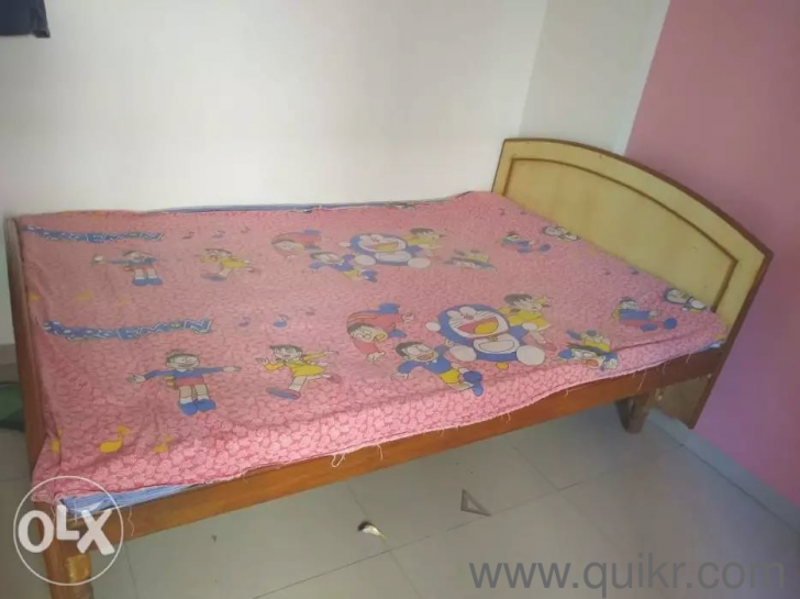 wooden bed 6x4 ft : : Bed Sets,Without Storage,Solid Wood