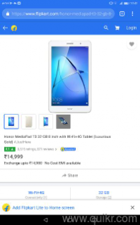 Honor tab 6 month old
