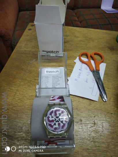 7f21cd326ae063 Swatch watch brand new .never been used with warranty card - Almost Watches  - Pune | QuikrGoods