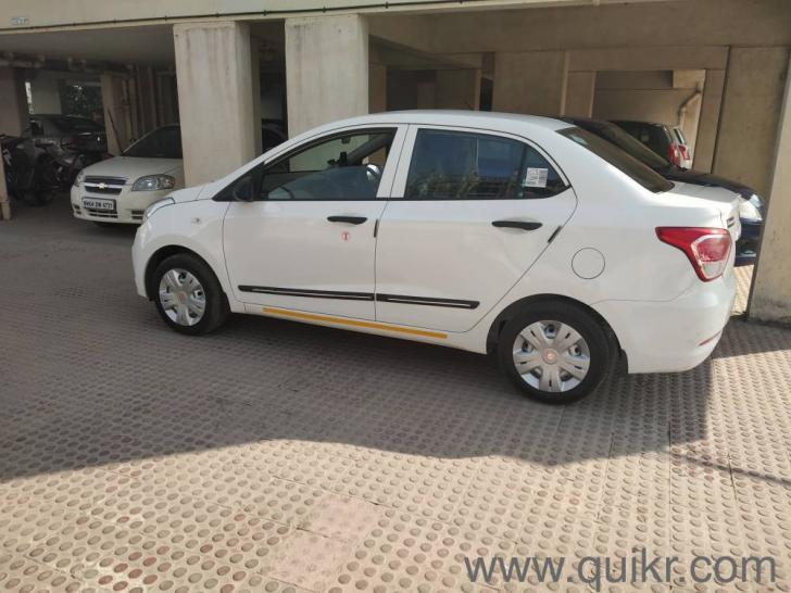 White 2019 Hyundai Xcent E 4 000 Kms Kms Driven In Baner Pune