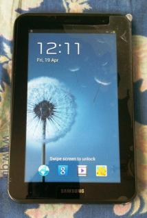 3 year old Samsung Galaxy Tab2, Model GT-P3100 in perfect working condition