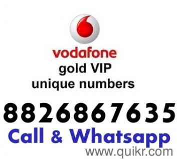 ONLY DEAL IN VIP NUMBERS Available in Prepaid ALL INDIA