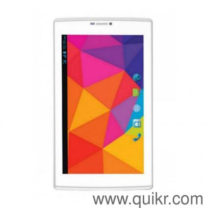 Micromax Canvas Tab P702 , White , 16GB , Unboxed With Original Accessories