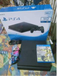 Fixed Price* PS4 Slim 500GB with original Box good n new condition